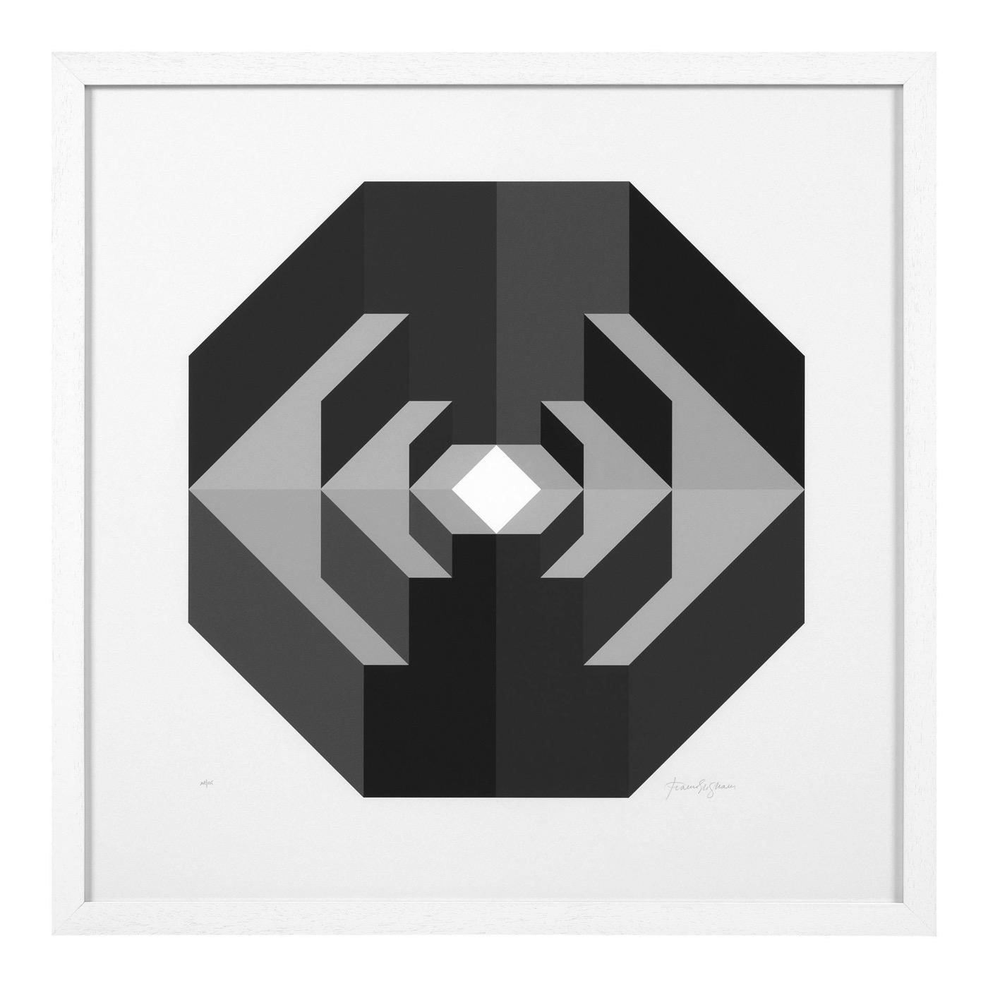 Kagan Geometric Prints | Set of 2