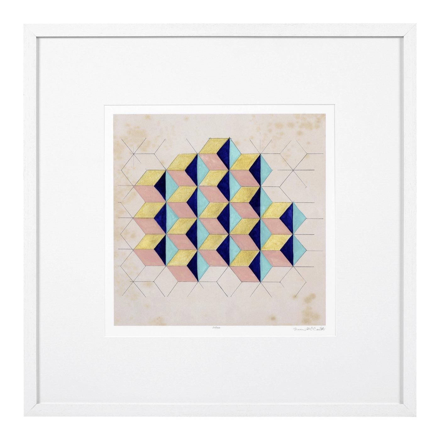 Mozi Geometric Prints | Set of 2