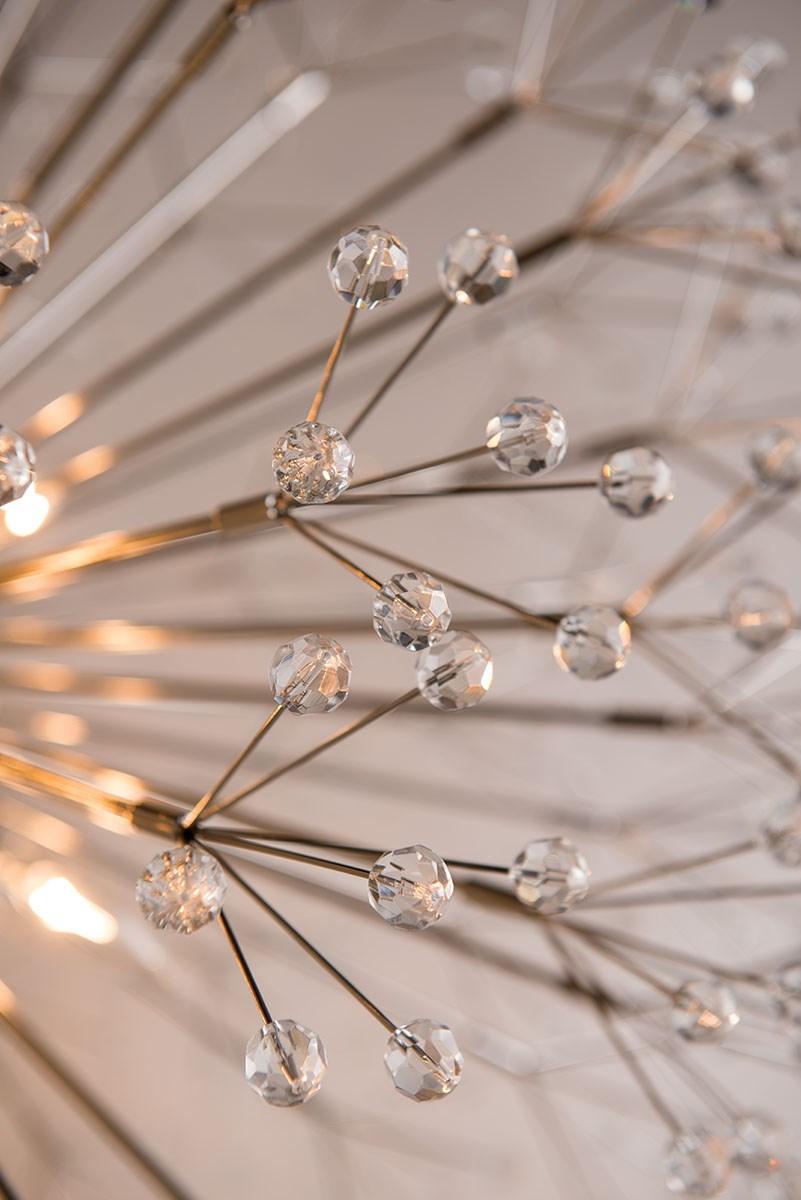 Dandelion Pendant | Antique Brass
