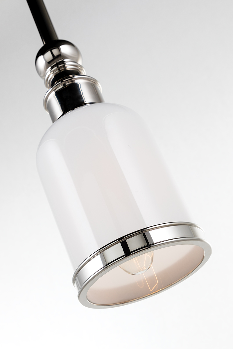 Brewster Bath Pendant | Polished Nickel
