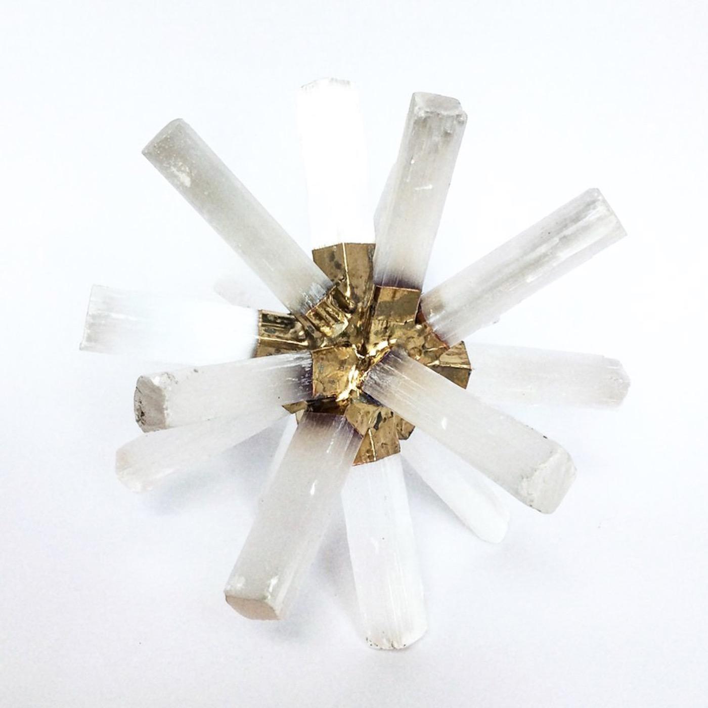 Mazzy Selenite Starburst Sculptures