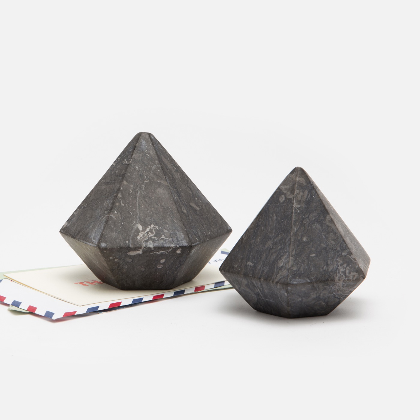 Kemper Geometric Object | Black Marble