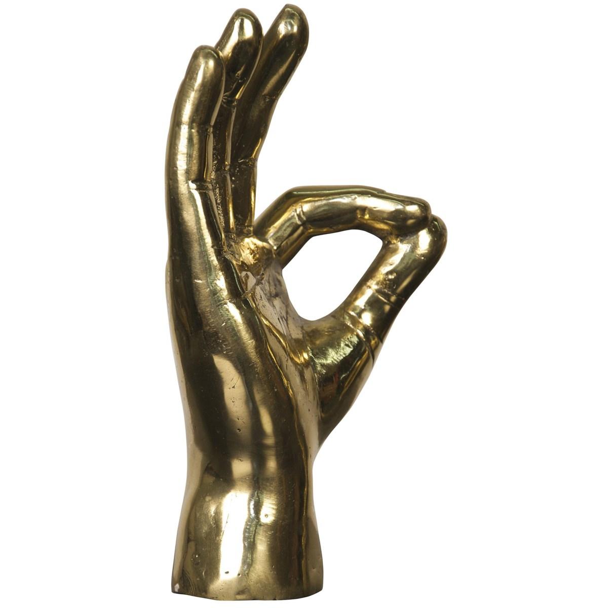 Kangula Gesture Sculpture | Brass