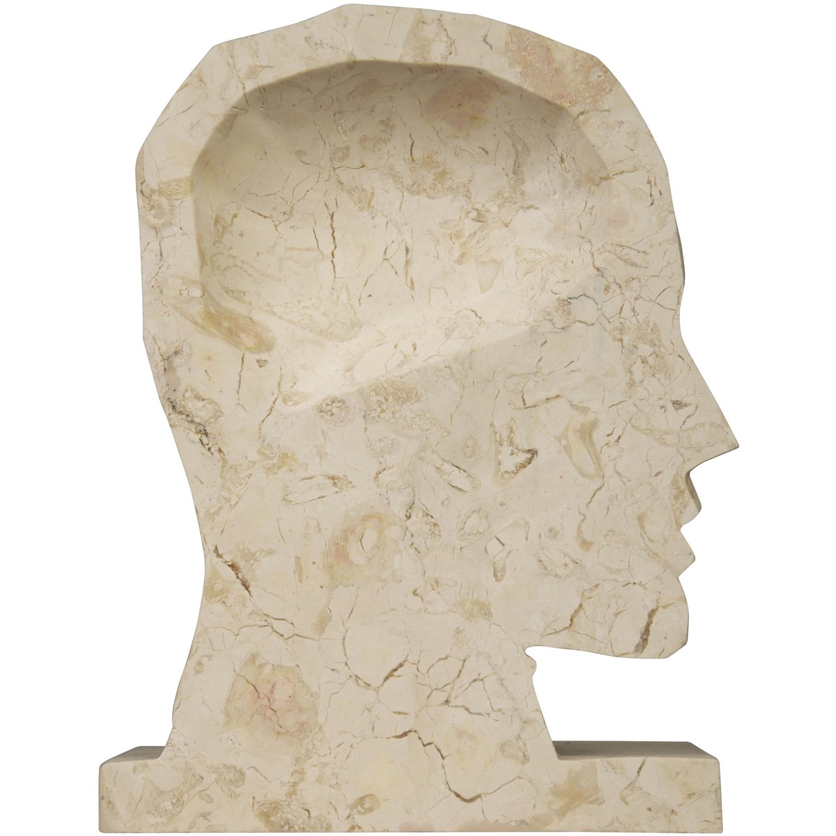 Janus Marble Bookends