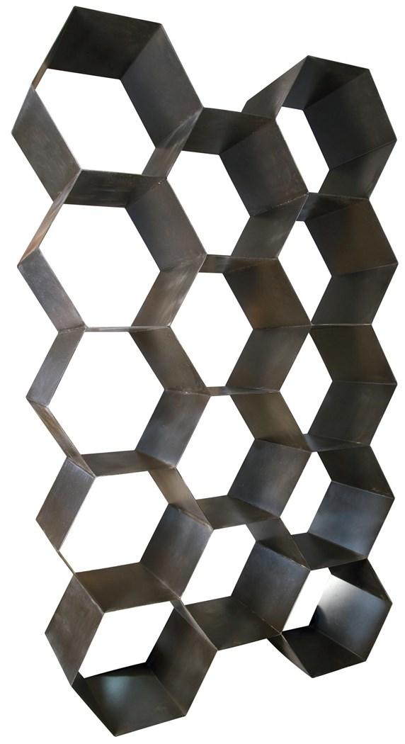 Honeycomb Steel Bookcase