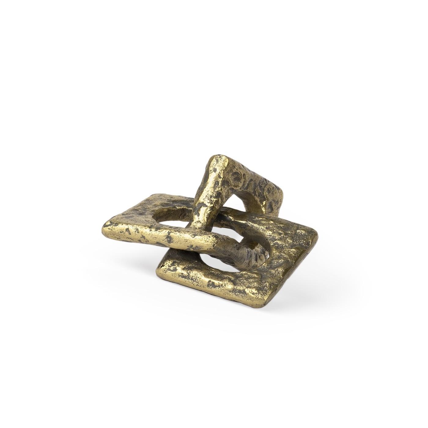 Rudina Small Gold Sculpture