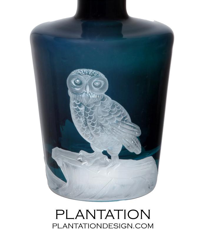 Allati Glass Decanter | Owl