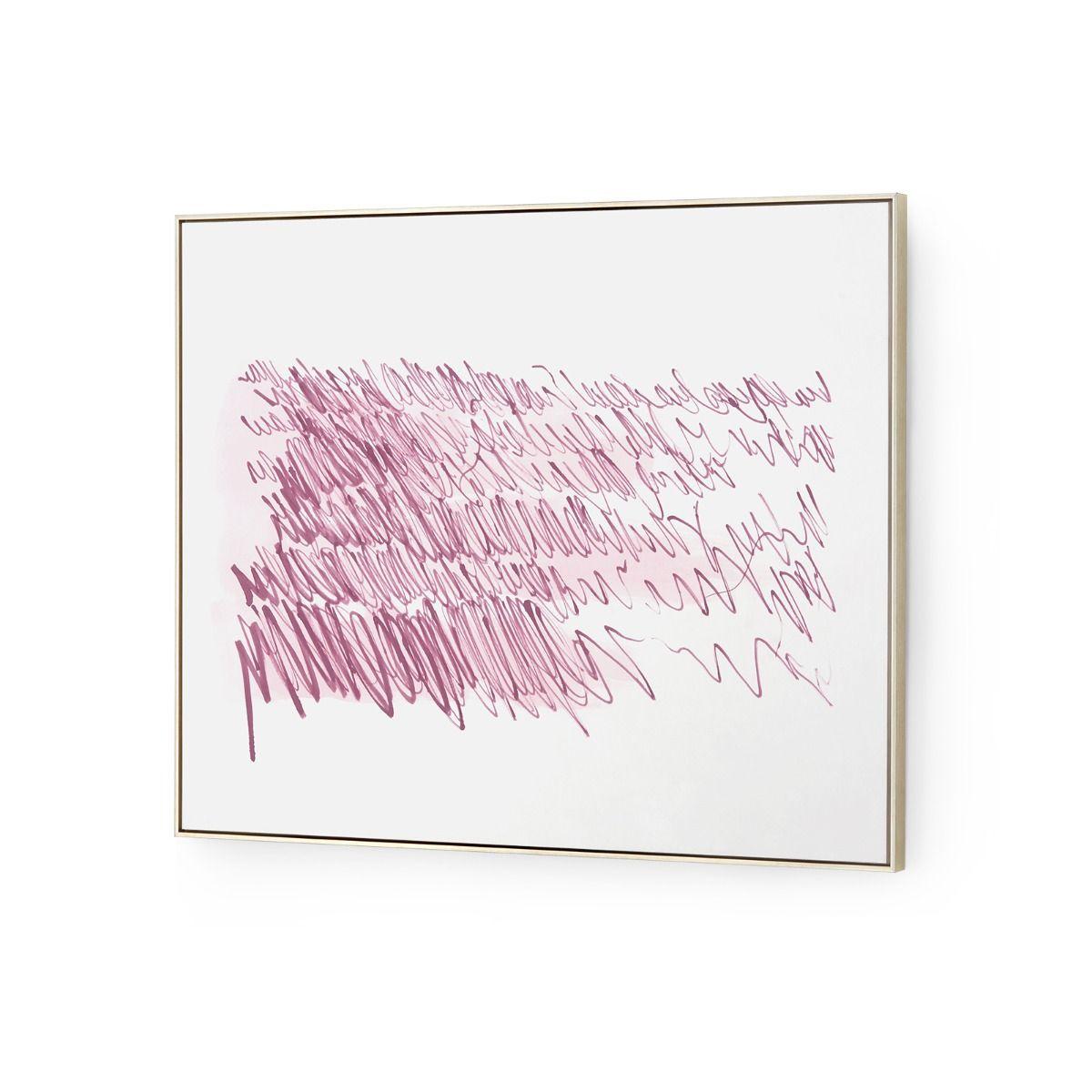 Poetic Musings Watercolor Art | Purple