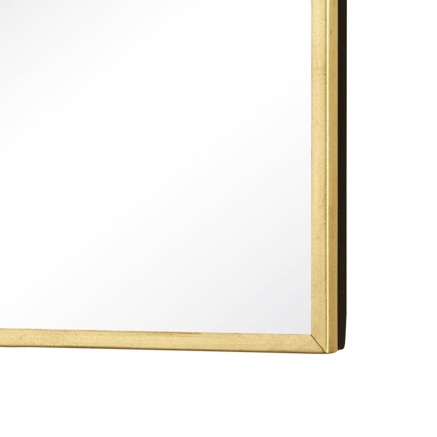 Darrow Square Brass Mirrors