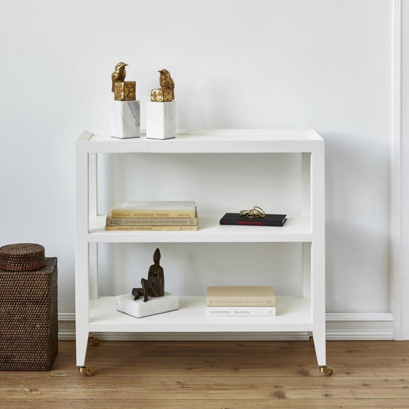 Canary Marble Bookends | Gold