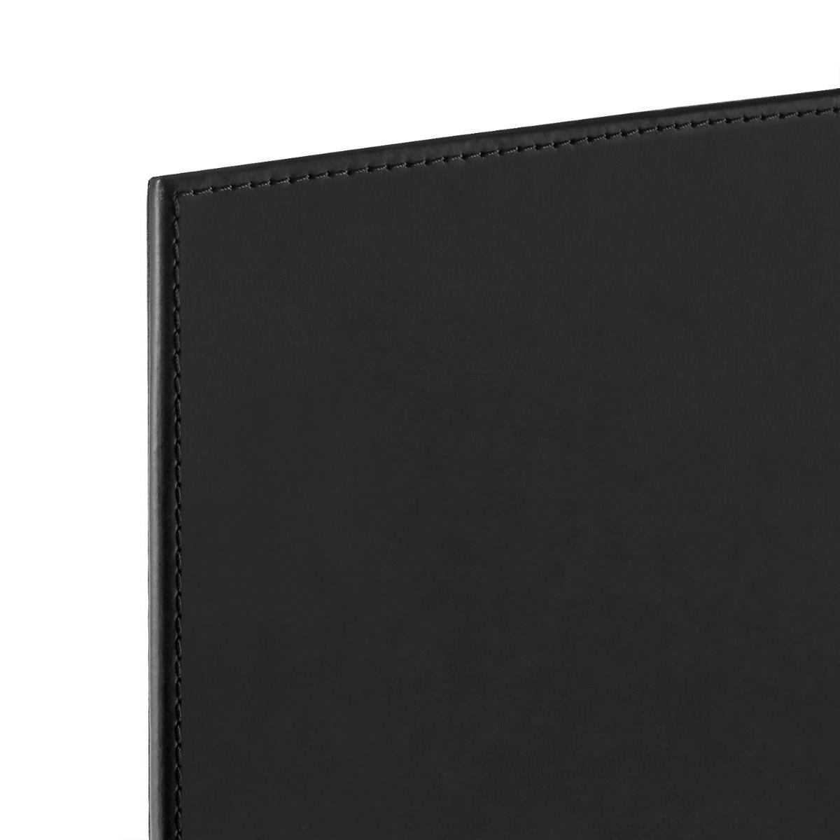 Spano Leather Desk Blotter | Black