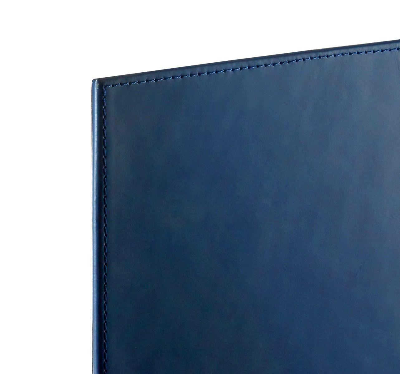 Spano Leather Desk Blotter | Dark Blue