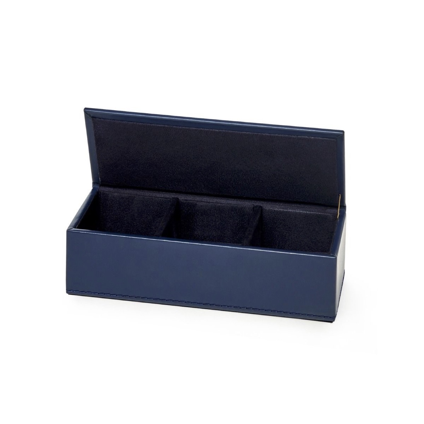 Spano Leather Box | Dark Blue