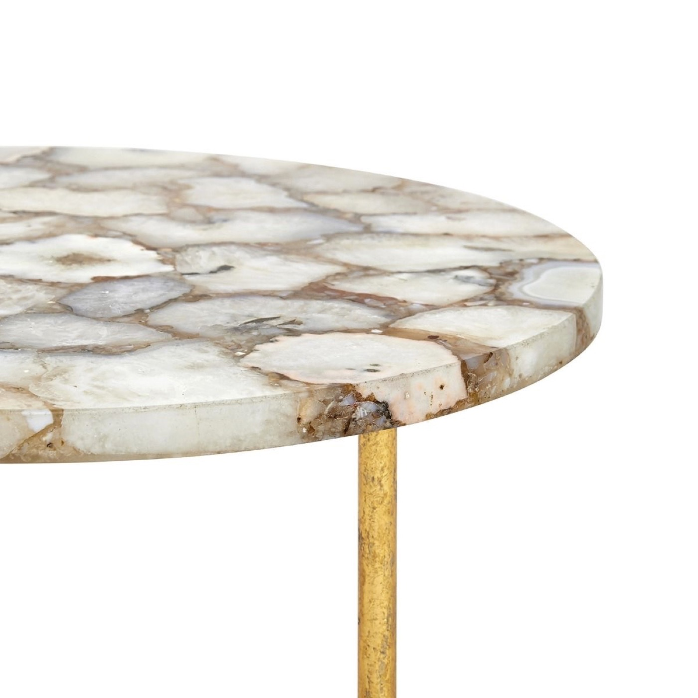 Gadot Side Table | Natural Agate