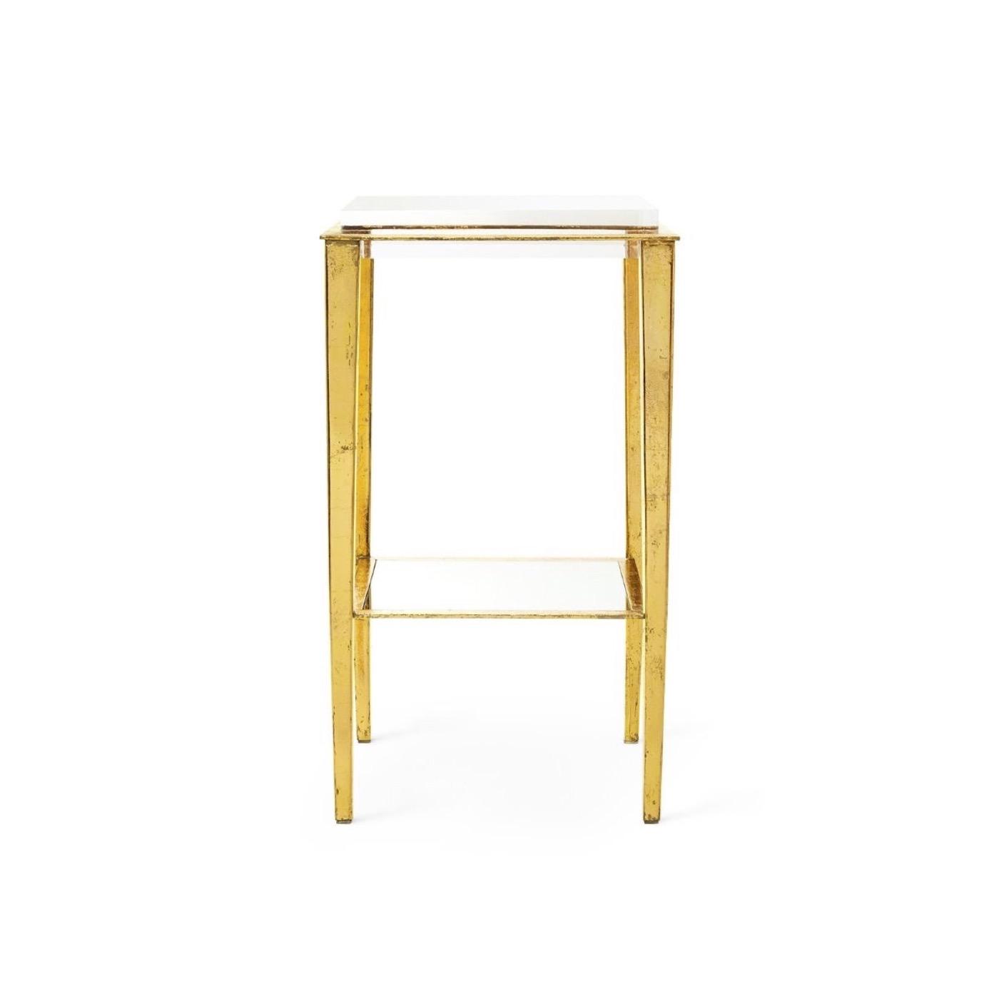 Sweetzer Side Table | Gold Leaf