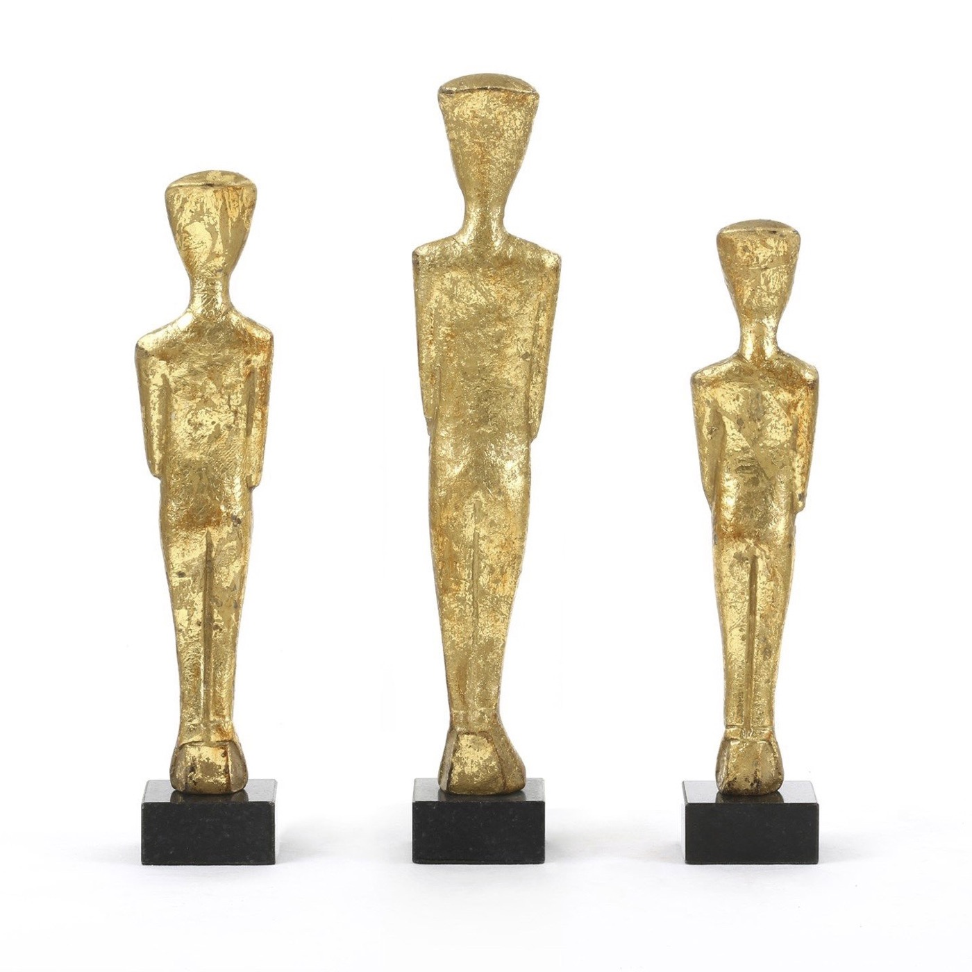 Thera Gold Statues Set