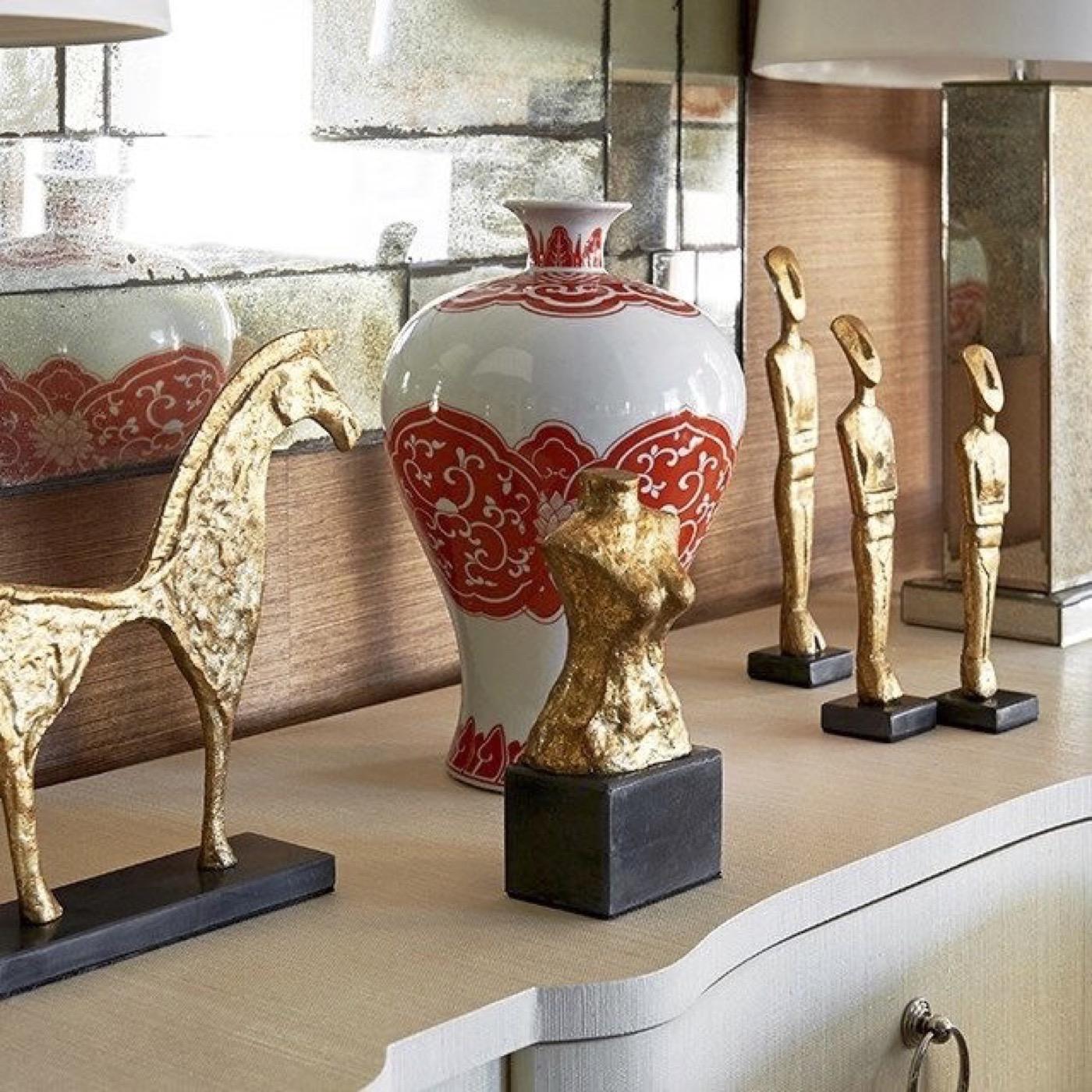 Ventana Bust Sculpture | Gold
