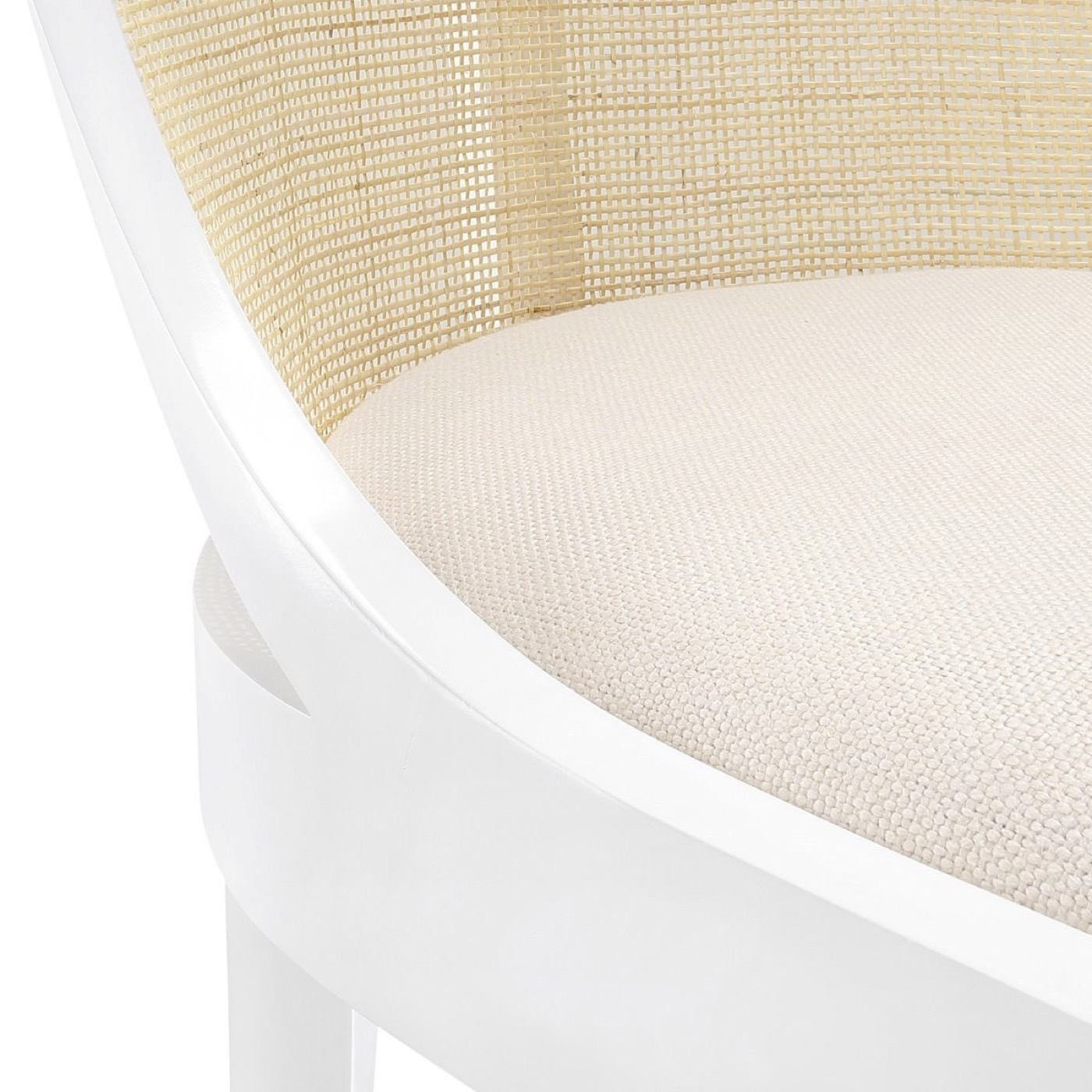 Sidwell Dining Chair   White