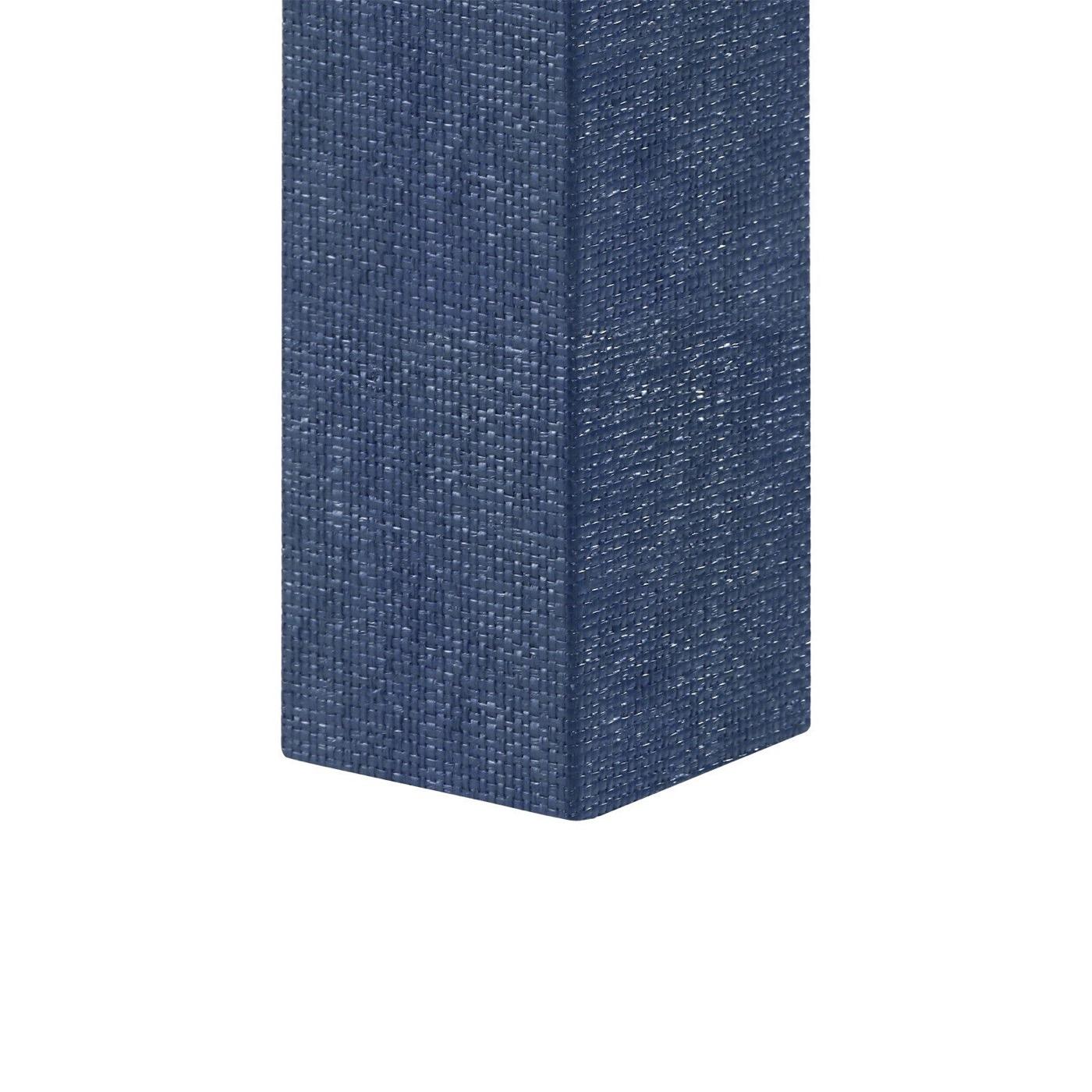 Finn Upholstered Console | Dark Blue