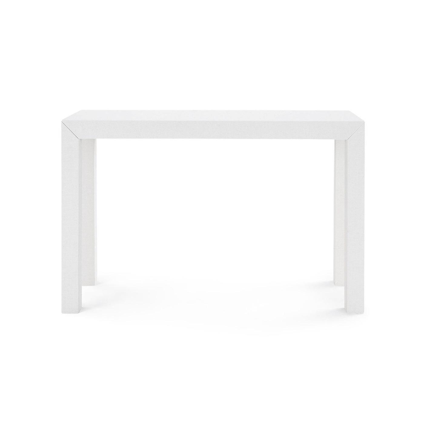 Finn Upholstered Console   White