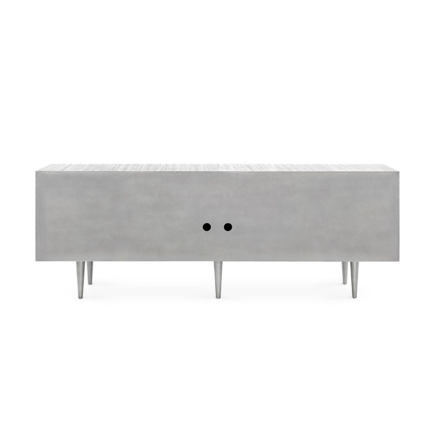 Grammer Metal Clad Cabinet | Nickel