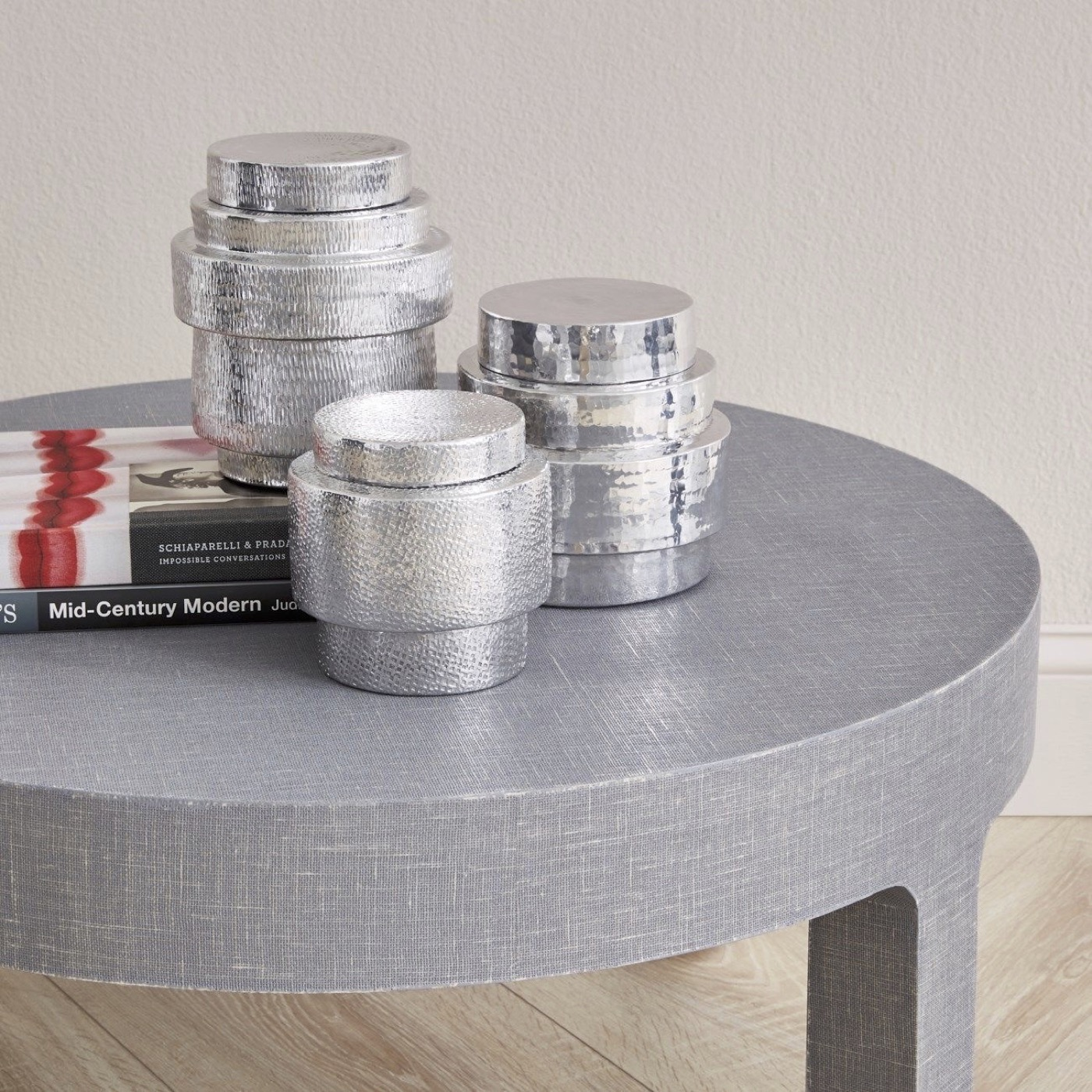Drummond Canisters Set | Nickel