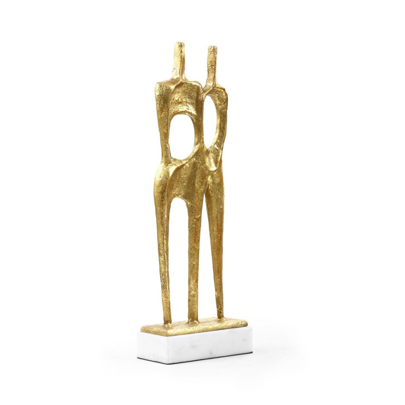 Unity Sculpture in Gold