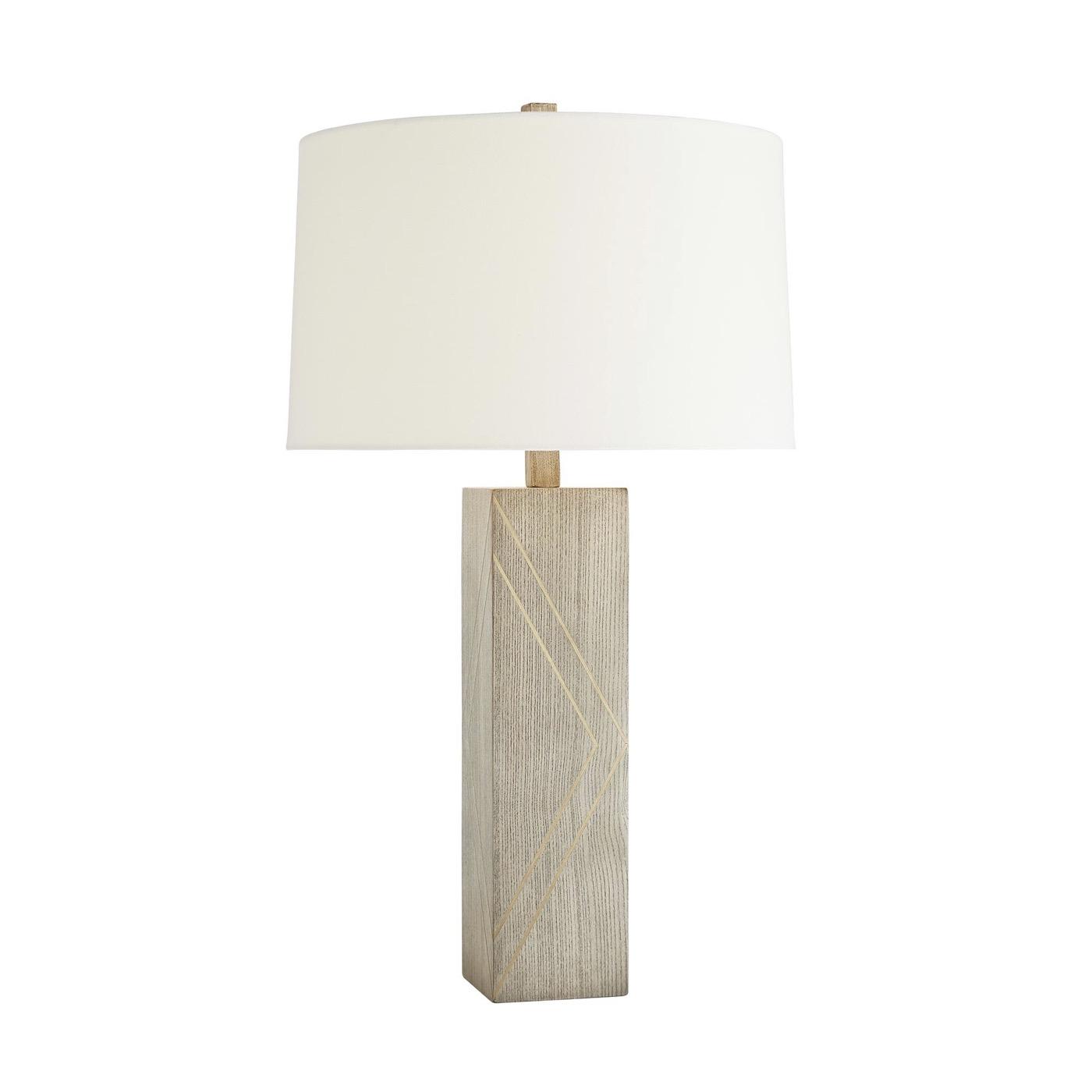 Vidal Wooden Table Lamp