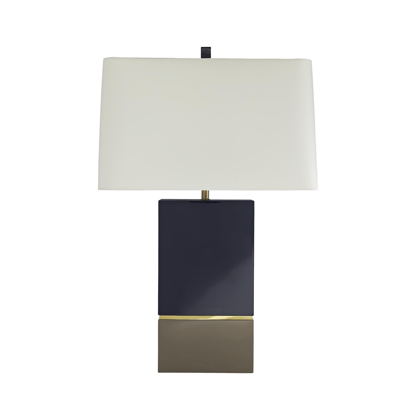 Harmen Blue Lacquer Table Lamp