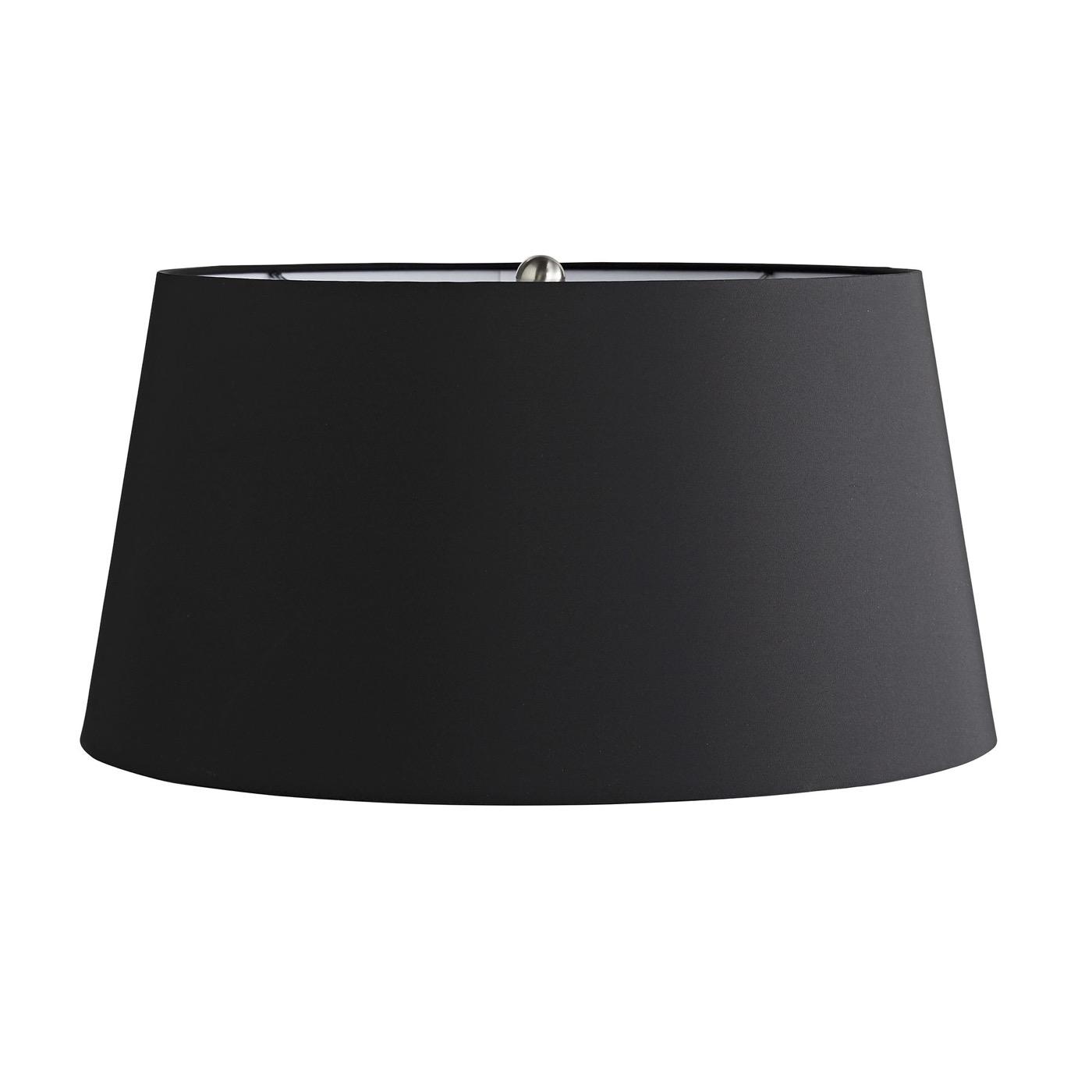 Edgar B&W Glass Table Lamp