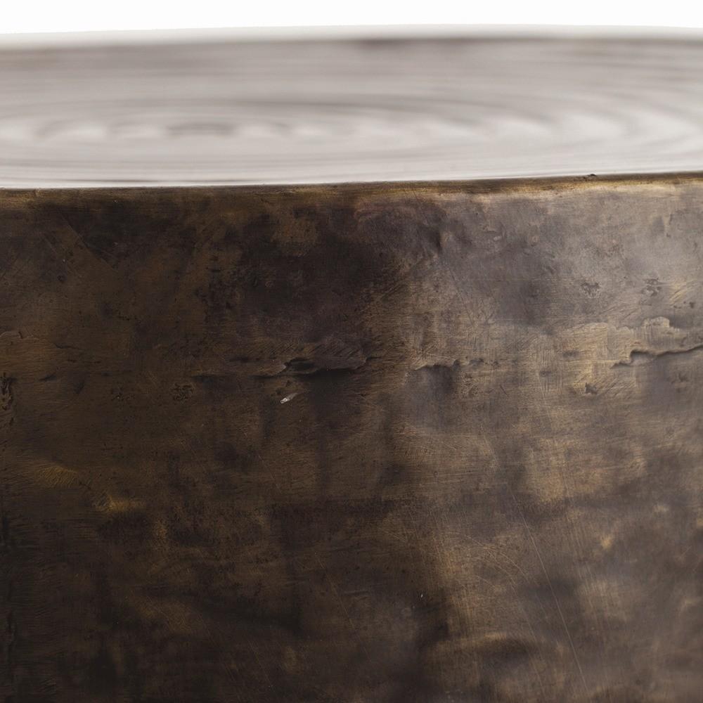 Harbon Iron Side Table | Bronze