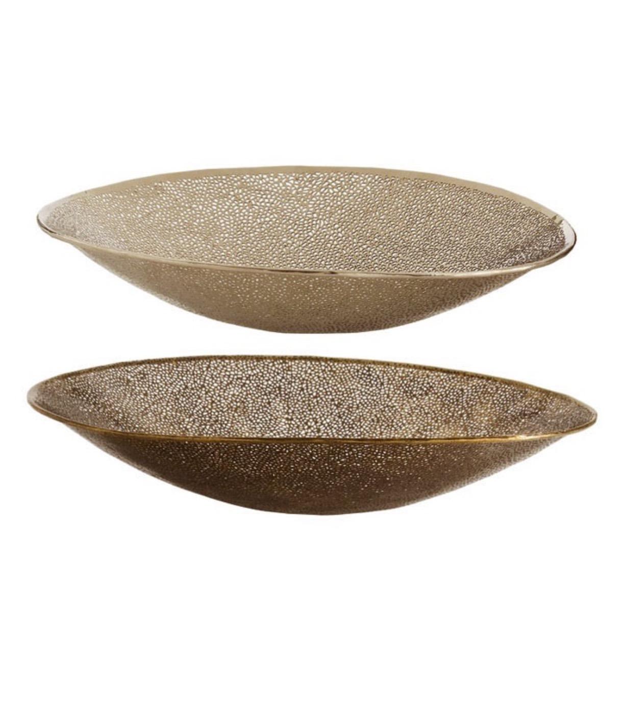 Mumbai Nickel & Brass Bowls Set