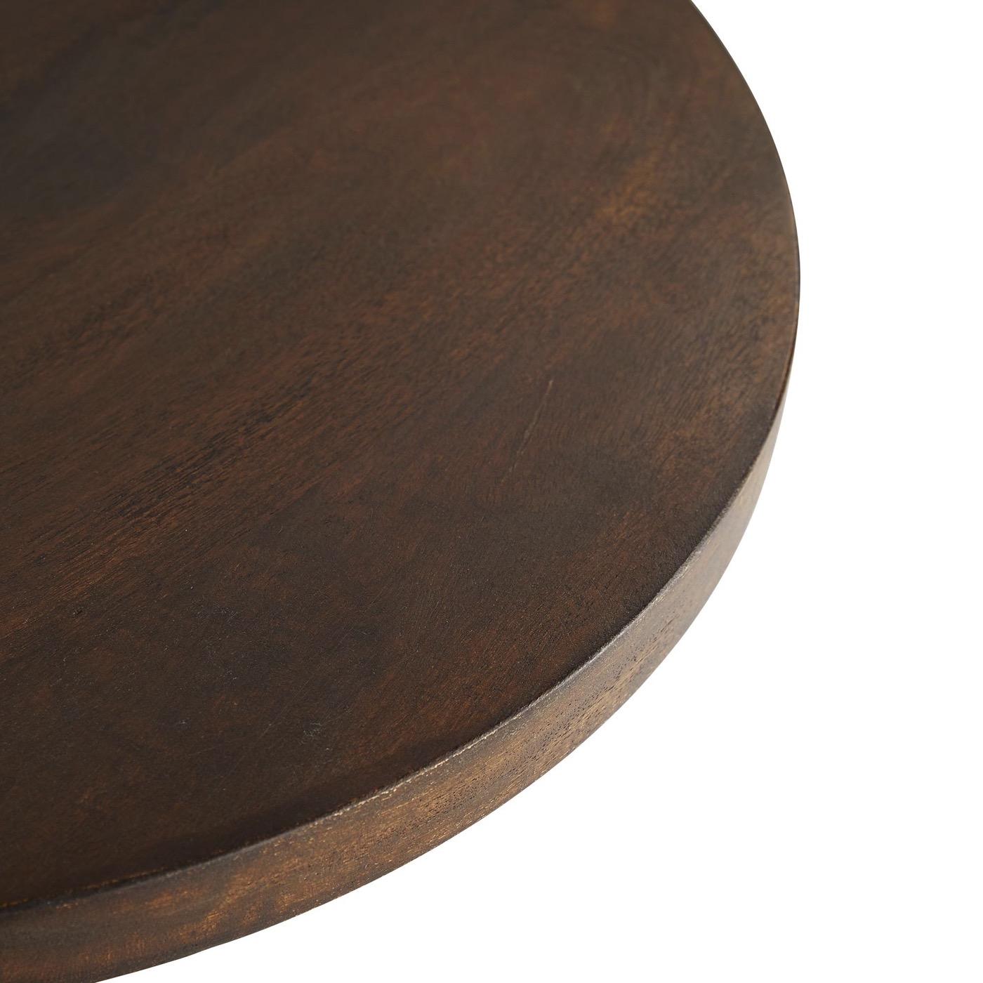 Darcie Wood Side Table