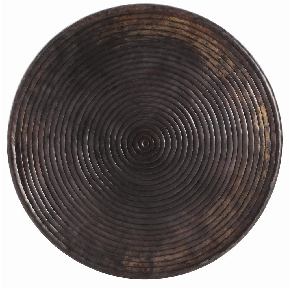 Harbon Iron Coffee Table   Bronze