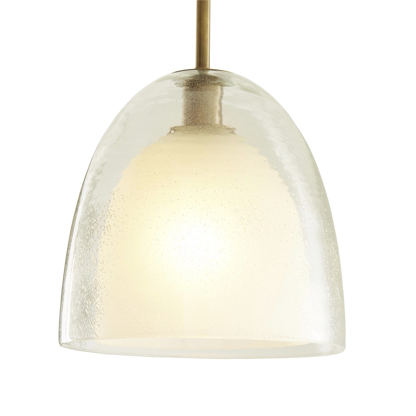 Zaro Glass Pendant | Frosted
