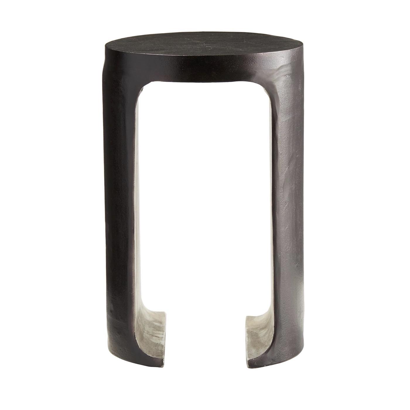 Jaden Two-Tone Metal Side Table