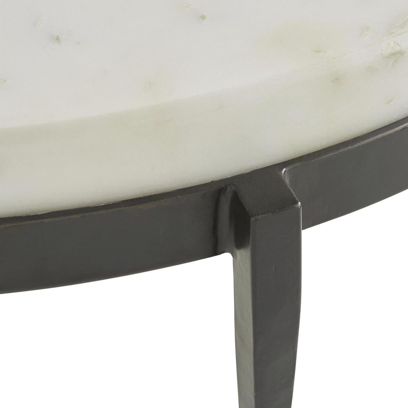 Apollo Coffee Table | White Marble