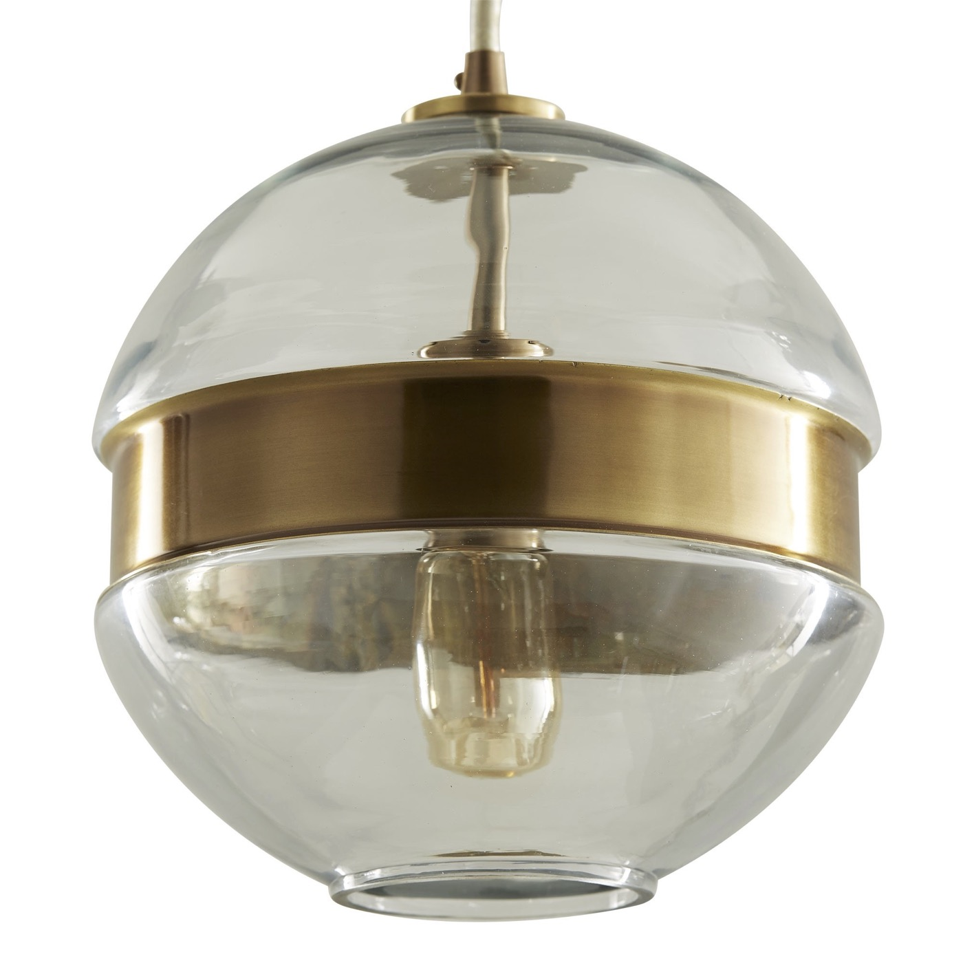 Belted Glass Pendant | Sphere