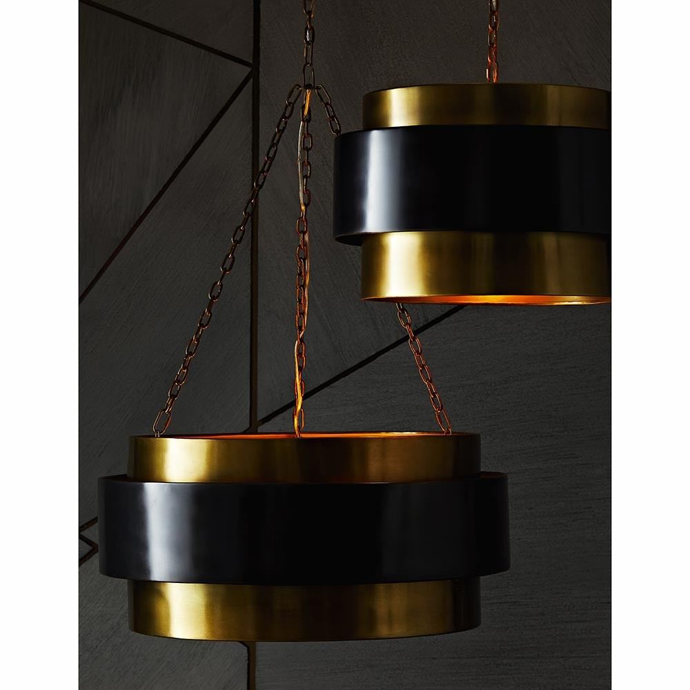 Ripley Pendant | Brass & Bronze