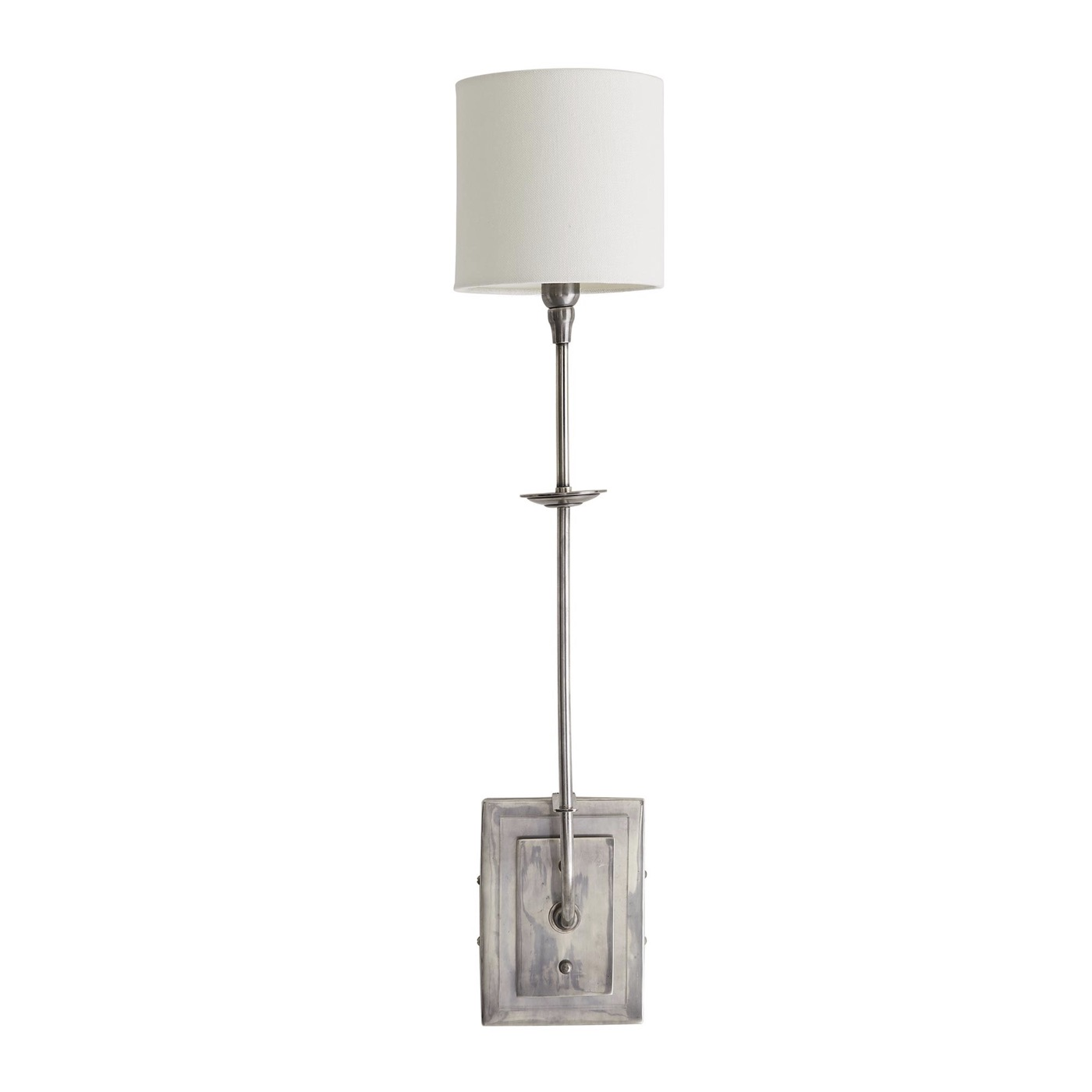 Curie Sconce | Silver & Lucite