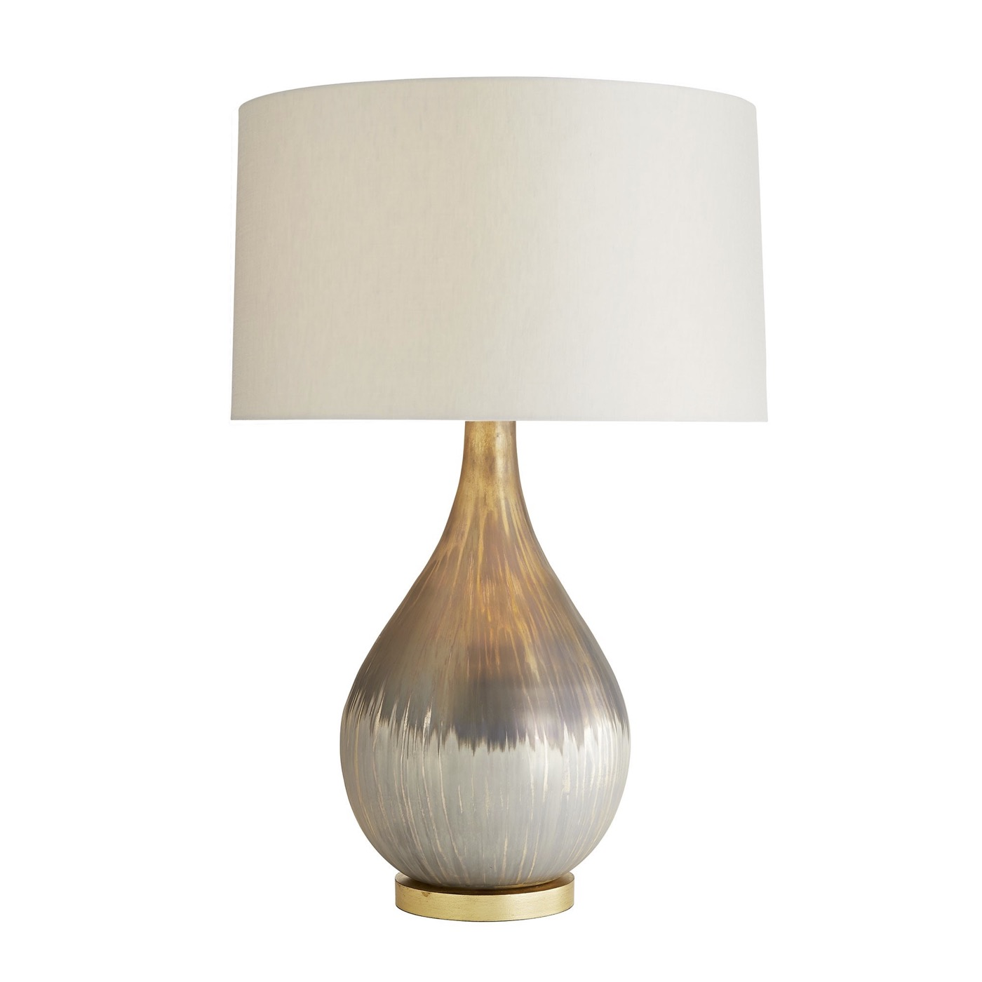 Michelle Silvered Glass Table Lamp