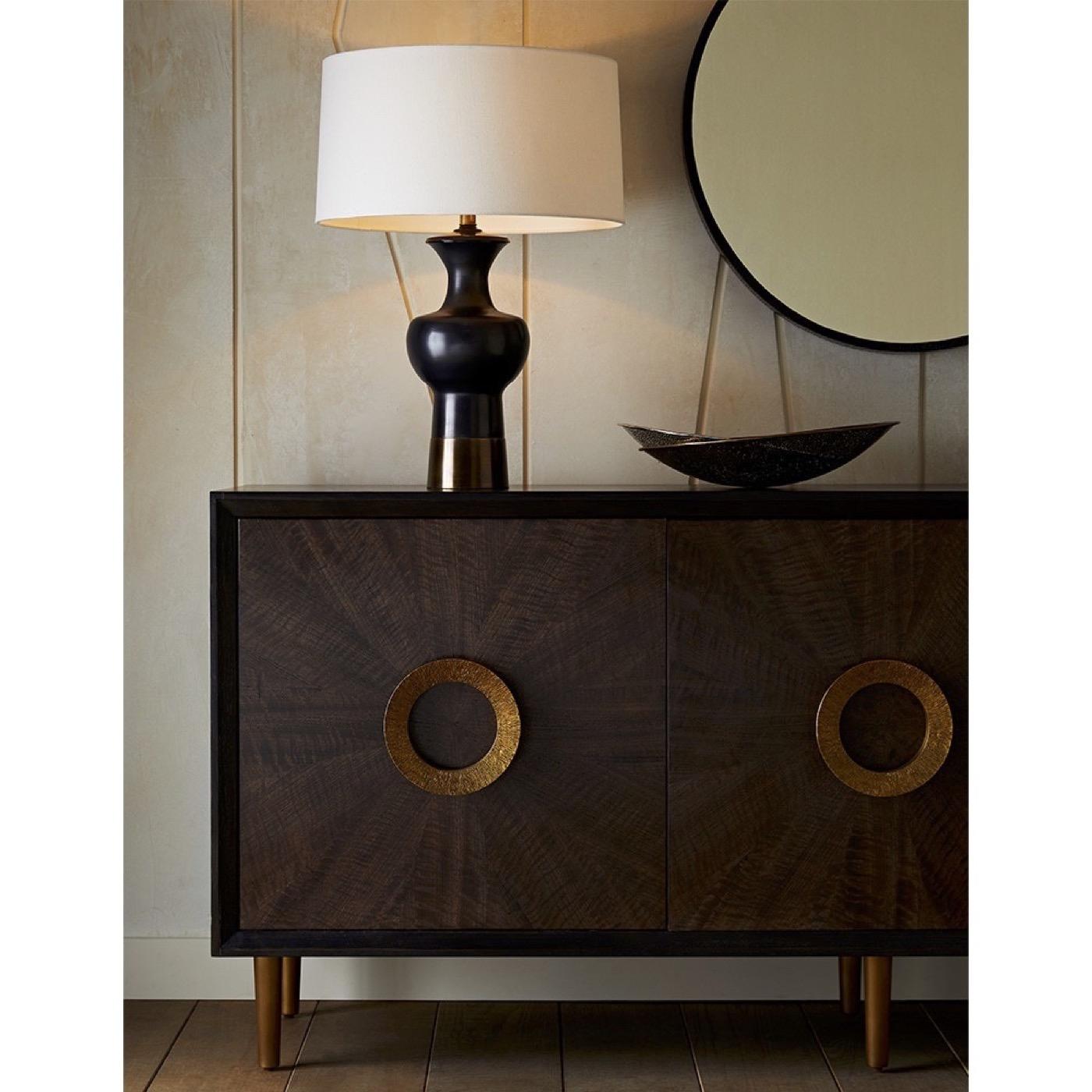 Tony Bronze & Brass Table Lamp