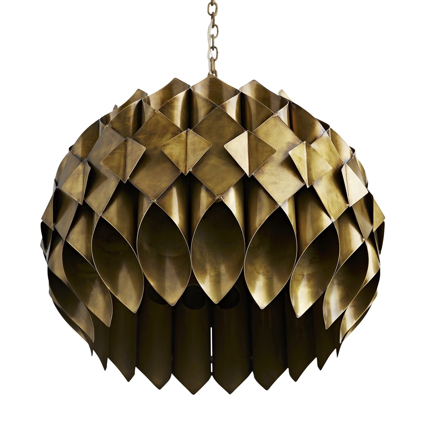 Sansa Brass Pendant