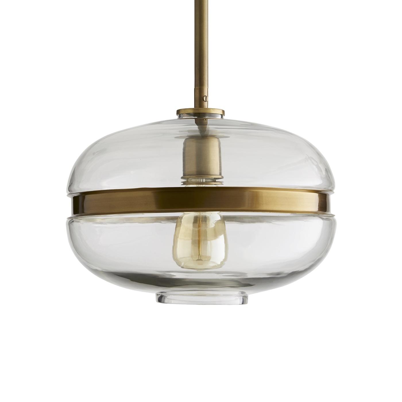 Belted Glass Pendant | Oblong