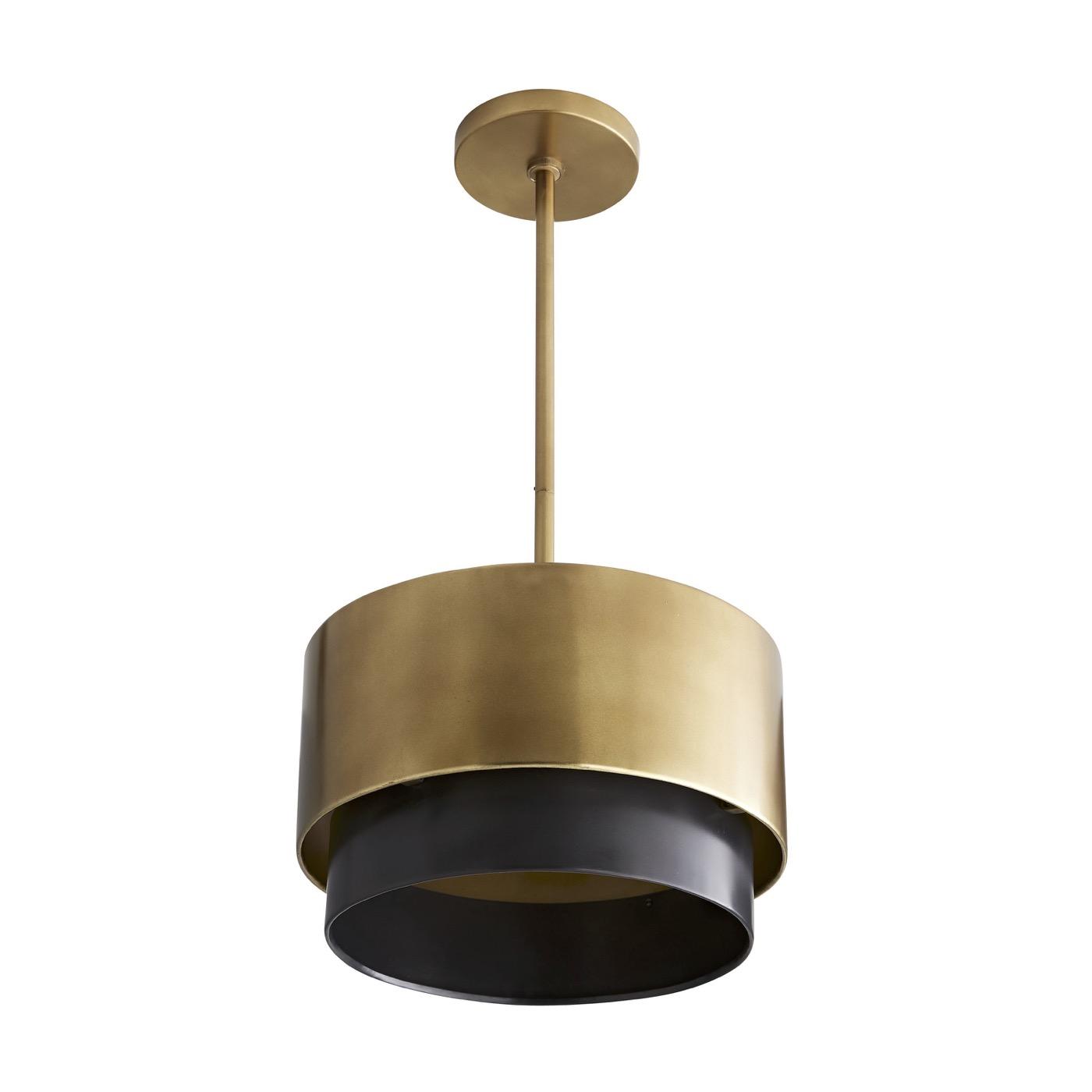 Ripley Petite Pendant | Brass & Bronze