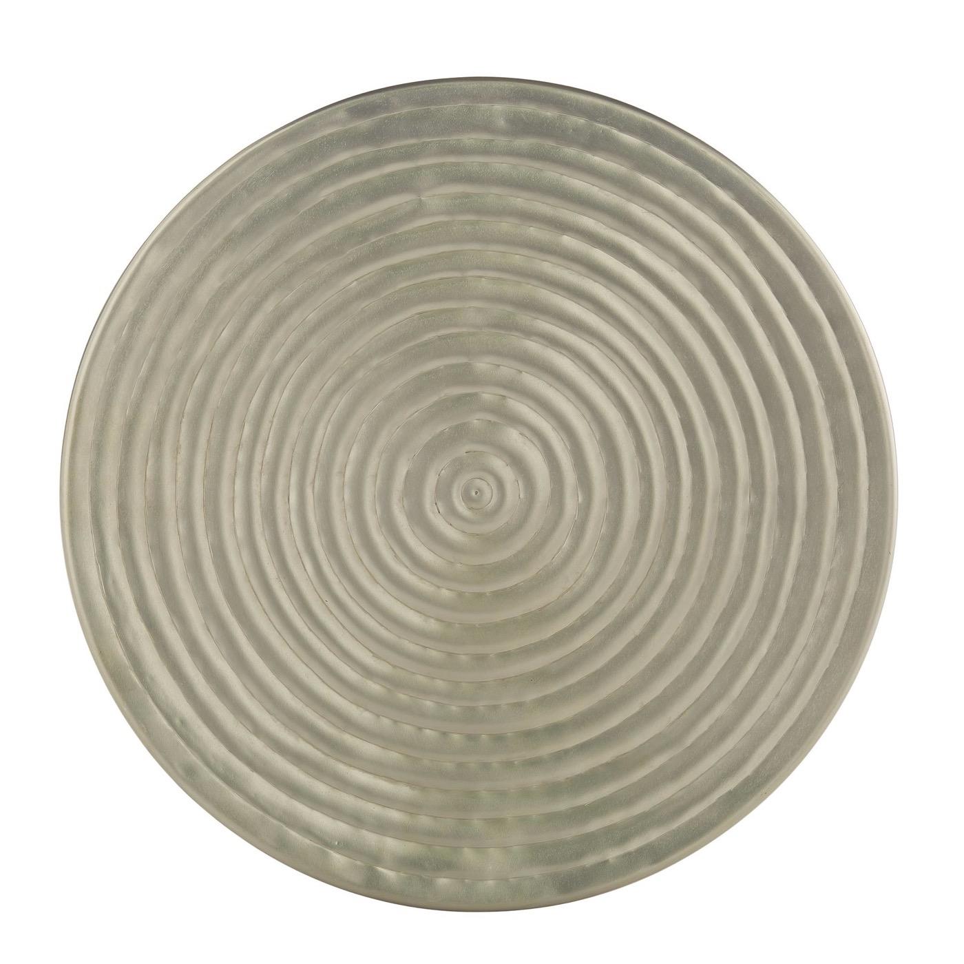 Harbon Iron Side Table | Nickel