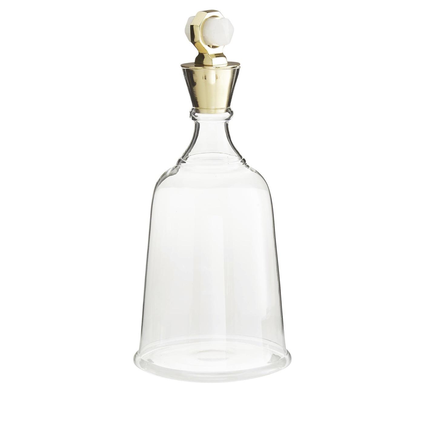 Bella Decanter | Quartz & Brass