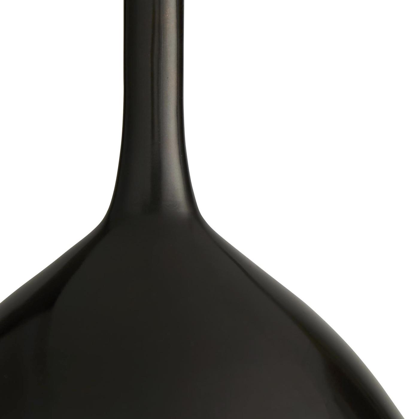 Greer Stout Metal Vase | Black Bronze
