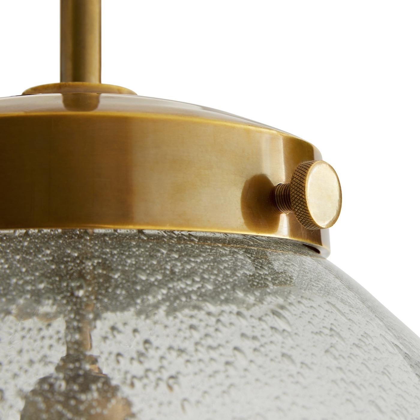 Katz Seeded Glass Pendant