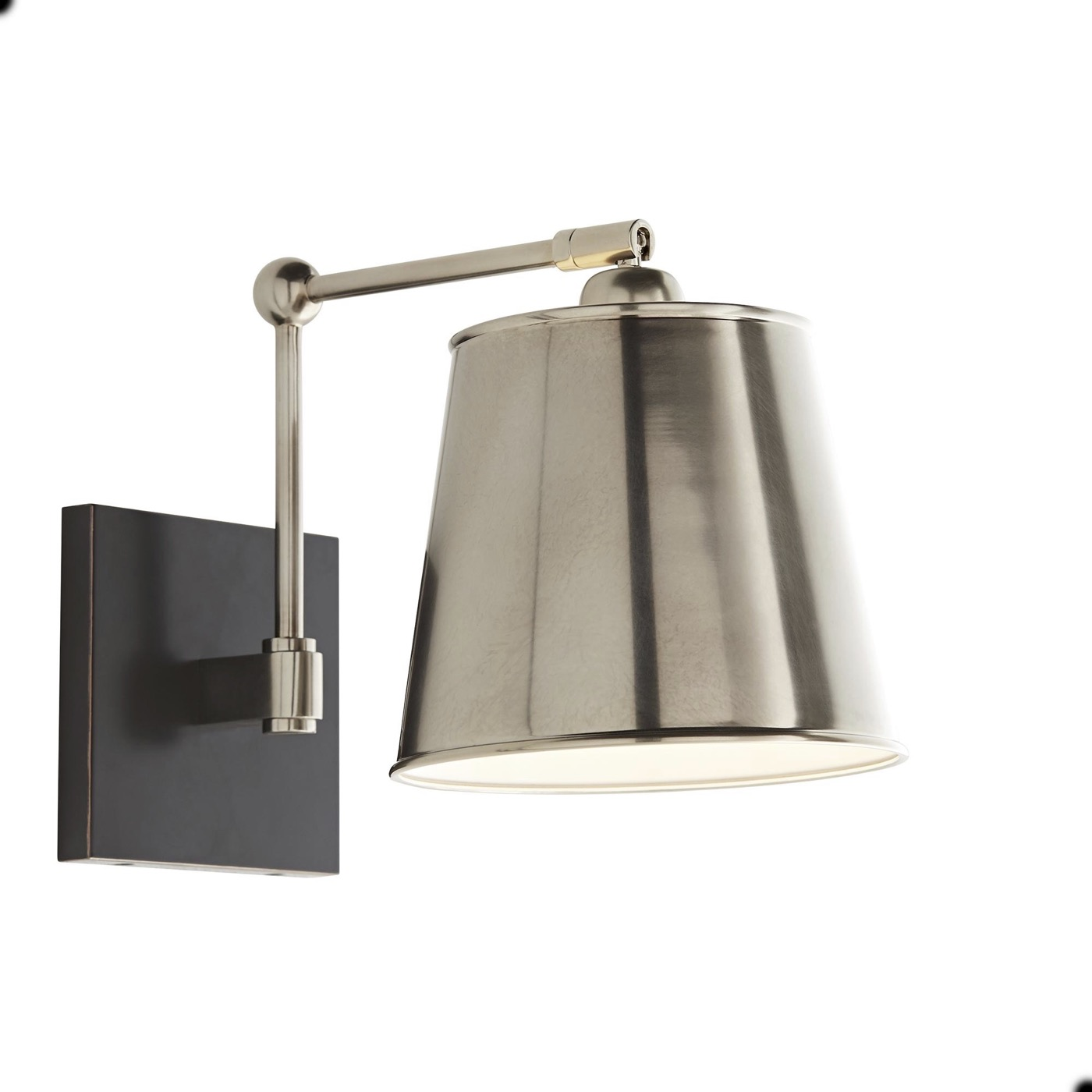 Maury Sconce | Antique Silver